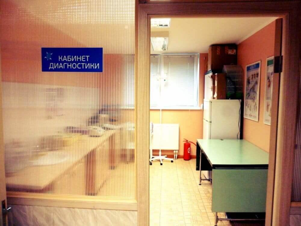 кабинет в ветеринарной клинике